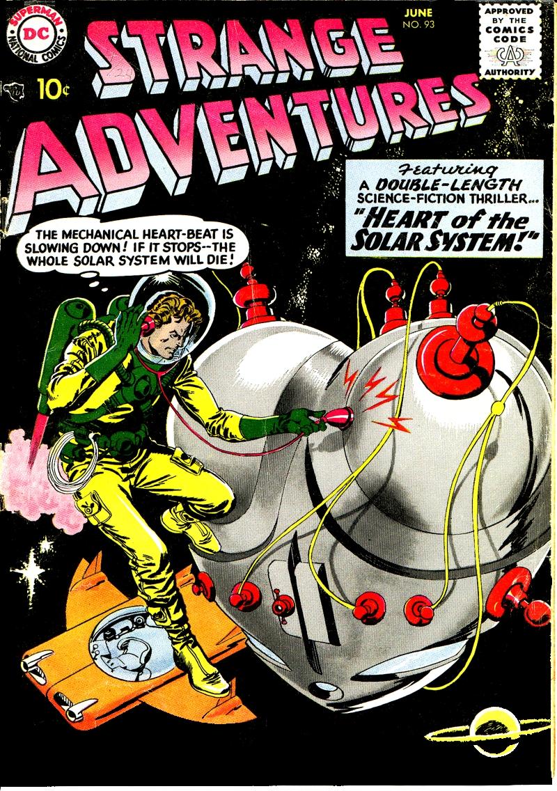 Strange Adventures (1950) issue 93 - Page 1
