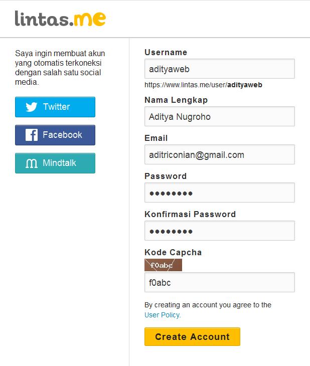 Cara Daftar dan Submit Artikel di Lintas.me
