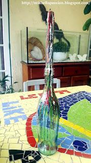 DIY Crayon Drip Candle Holder