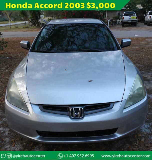 Honda Accord 2003 - Yireh Auto Center