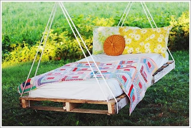 [DIY] Pallet Swing Bed For A Wonderful Summer