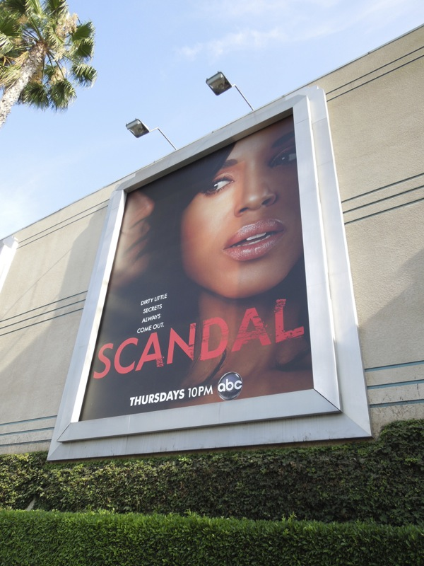Scandal season 2 billboard