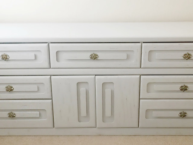 Learn how to remodel a garage sale furniture piece or distress it