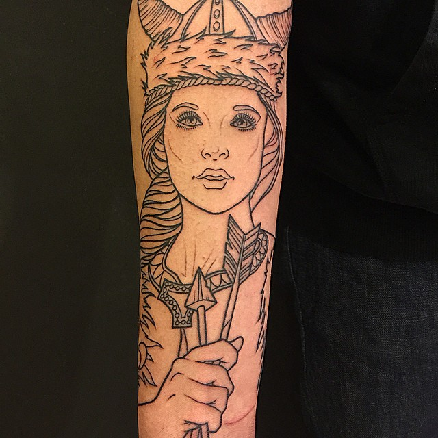Foto de Tatuaje Vikingo espectacular