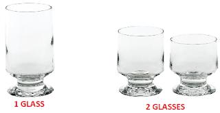 glass ou glasses