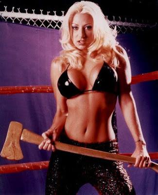 Lizzy Borden - Female Wrestling