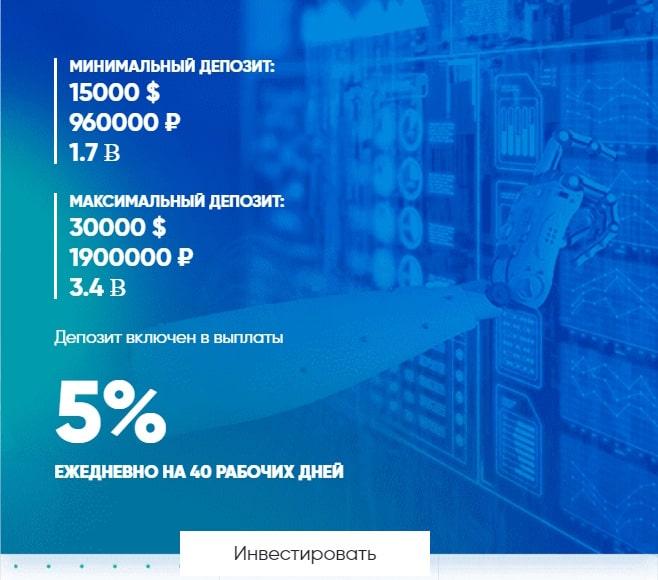 Инвестиционные планы NanoInv LTD 2
