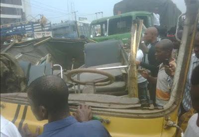 truck driver kill 5 abuja lokoja