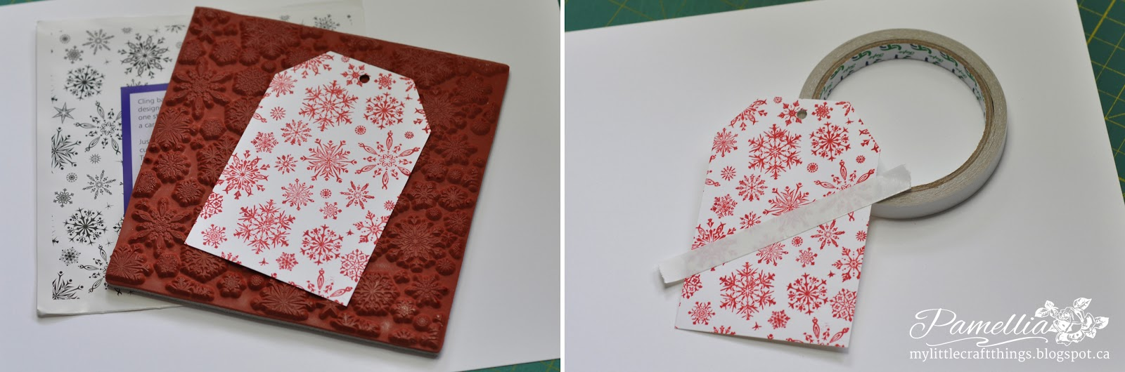 My little craft things christmas tag candy cane background tutorial stickles dry glitter rock candy i have also used decoart glamour dust which is an iridescent glitter and had great results with that as well baditri Images