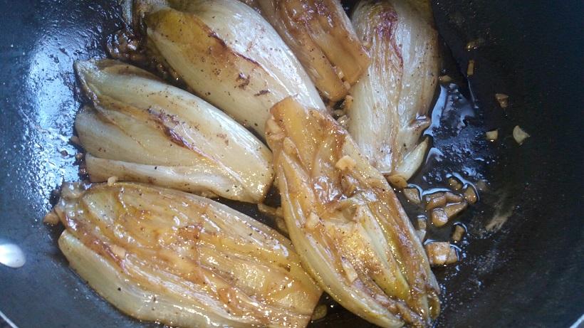 recette, endives, endives braisées, endives au jambon, enlever l'amertume des endives, comment préparer des endives, chef, auteur culinaire