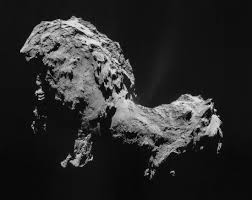 Space mission for landing on Comet crossing our solar system