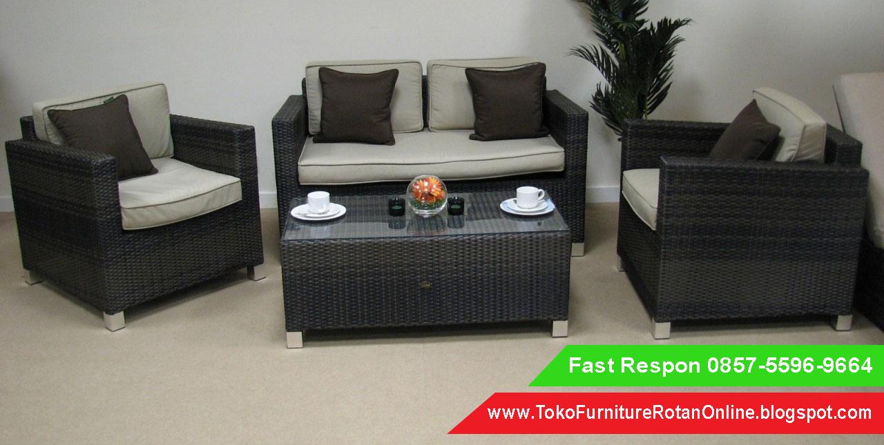 Sofa rotan modern sofa rotan medan sofa rotan minimalis surabaya 0857 5596 9664