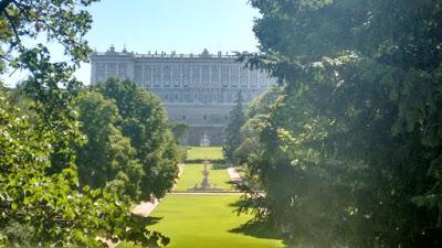 El campo del moro. Vistas palacio real