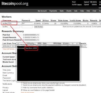 Cara Mencari Litecoin Dengan Aplikasi Scrypt Cpu Litecoin ...