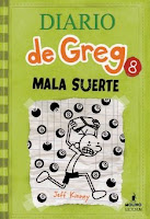 bookcover of MALA SUERTA (Wimpy Kid #8)by Jeff Kinney