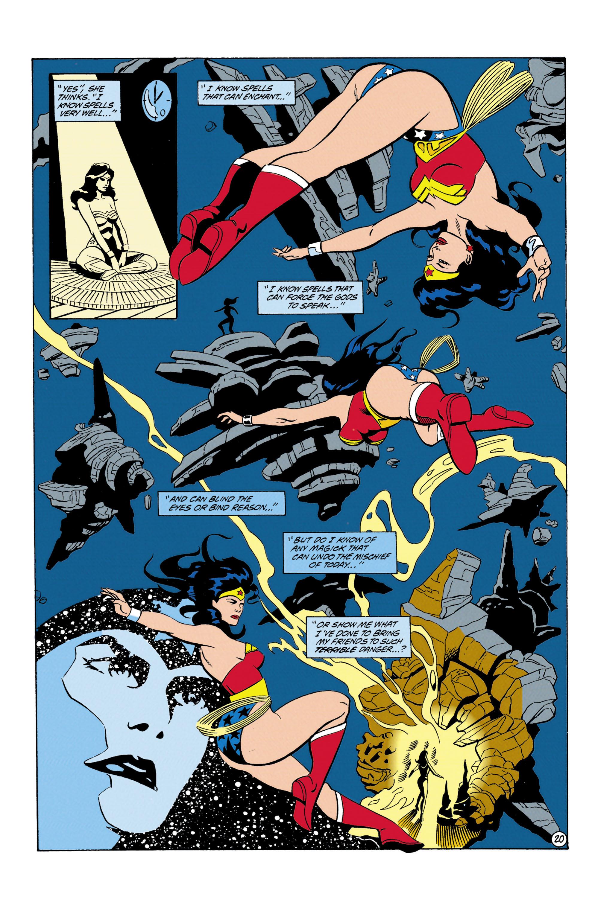 Read online Wonder Woman (1987) comic -  Issue #87 - 21