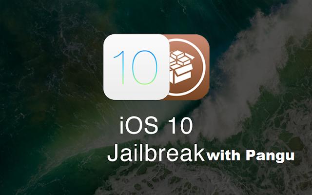 جيلبريك IOS 10 ; بانغو ;
