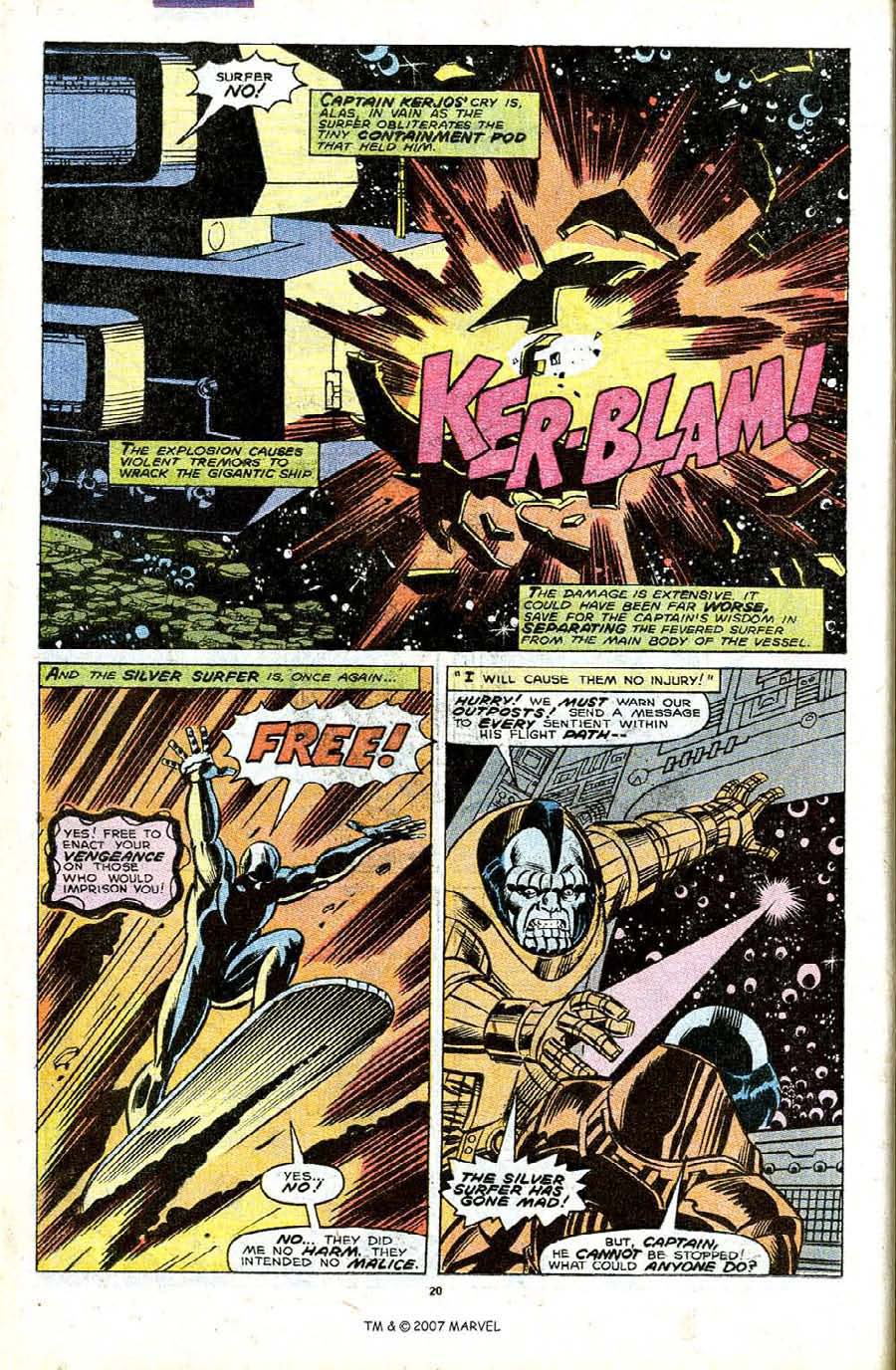 Read online Silver Surfer (1987) comic -  Issue #32 - 22