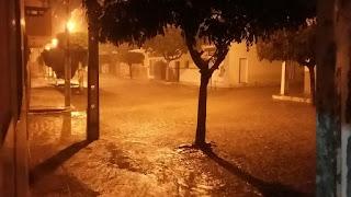 Chove forte no município de Nova Palmeira na noite dessa segunda; Papa-fina recebe mais de 100,0 mm
