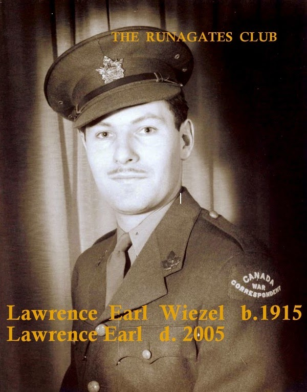 Lawrence Earl, Canadian War Correspondent, Montreal 1944