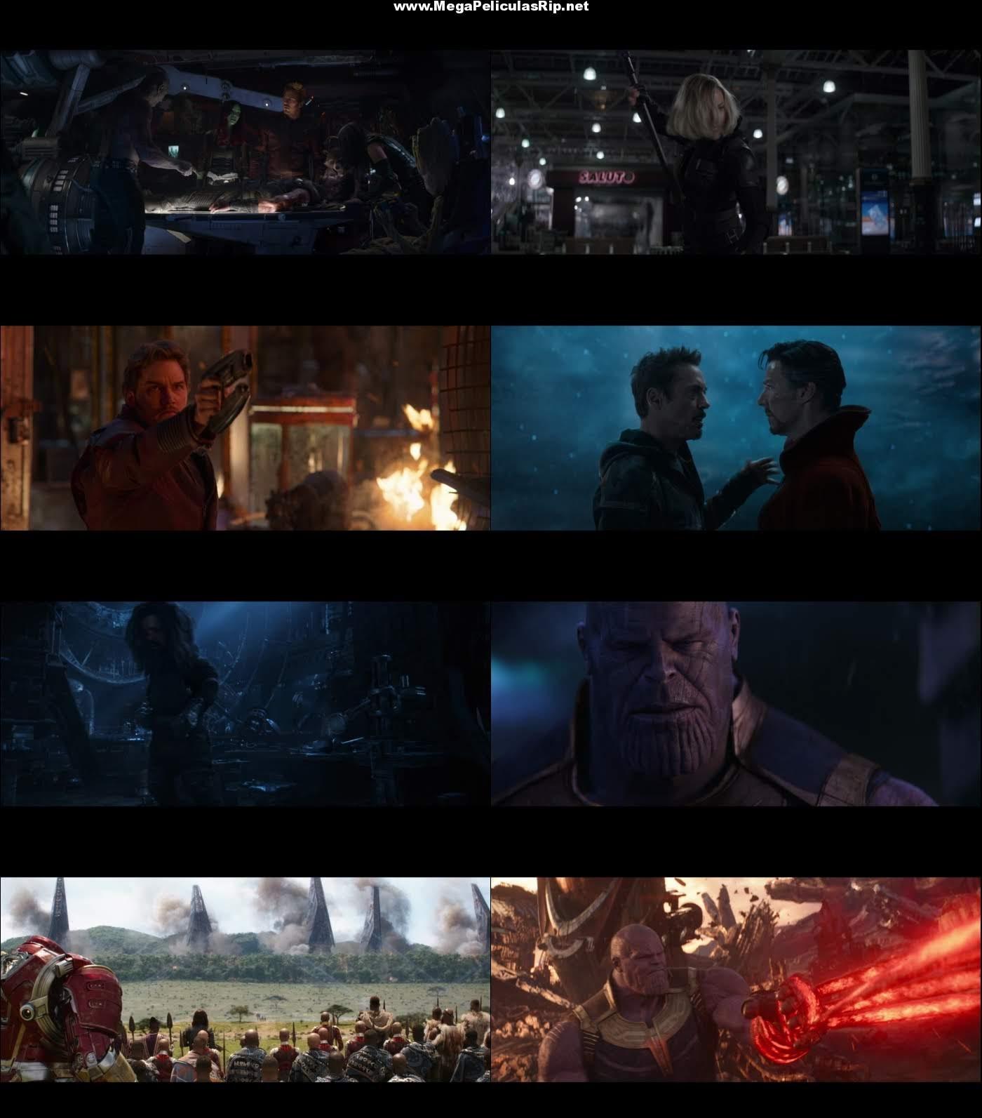Avengers Infinity War 1080p Latino