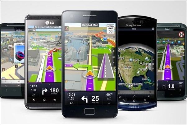 aplicaciones gps Smartphone internet