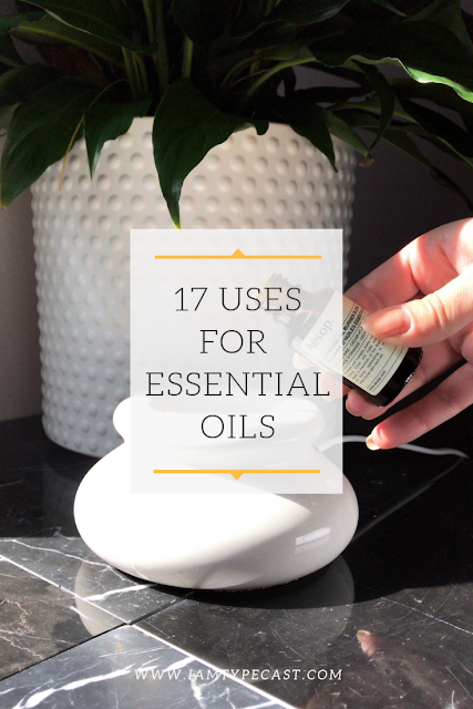 17 Uses For Essential Oils | Typecast - I want to do a bit more than just use my essential oils in a diffuser so I turned to my blogging community for some advice and they had LOADS of ideas.