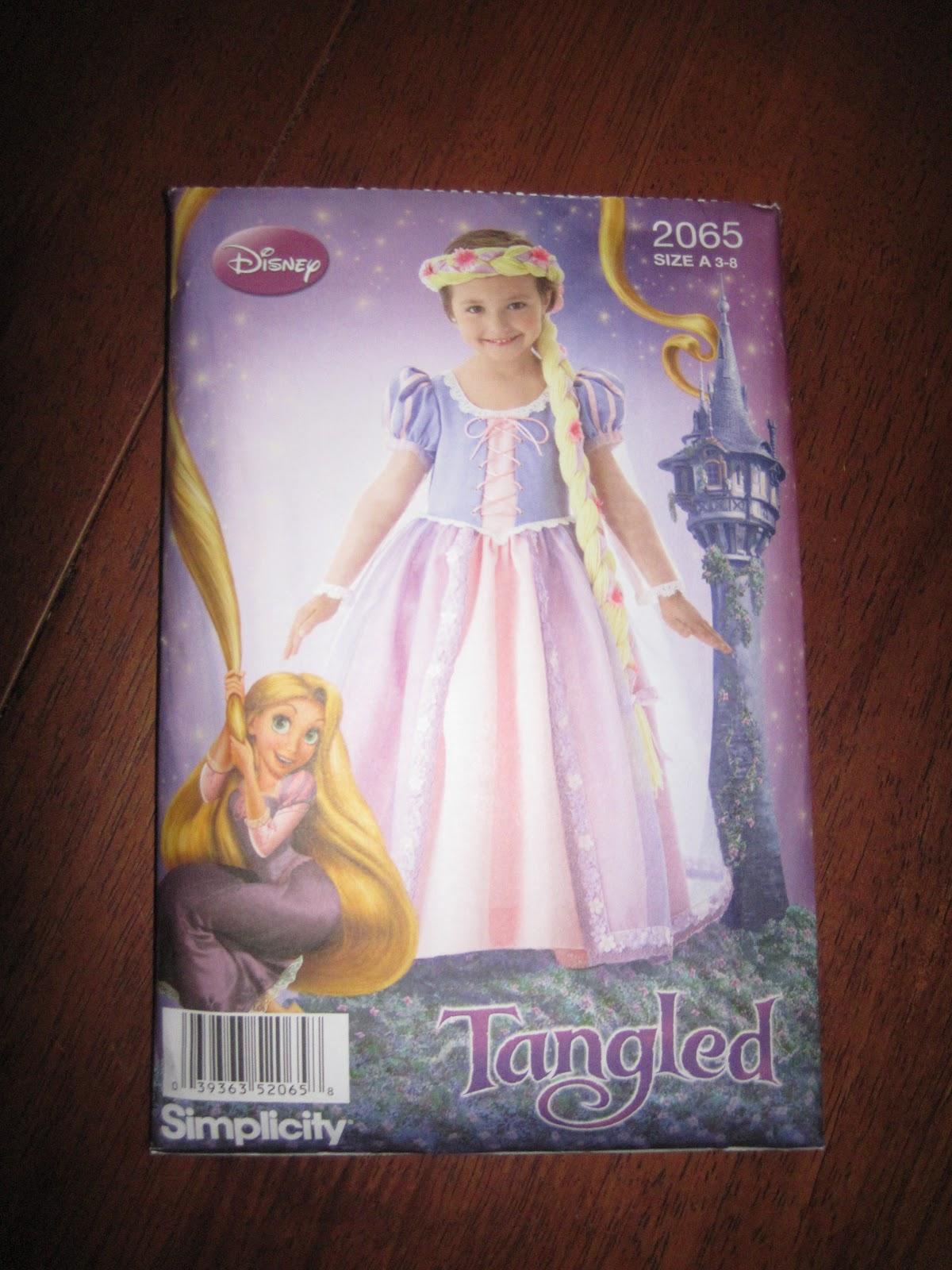 Simplicity Pattern 2065, Disney Rapunzel Dress - Sew Much