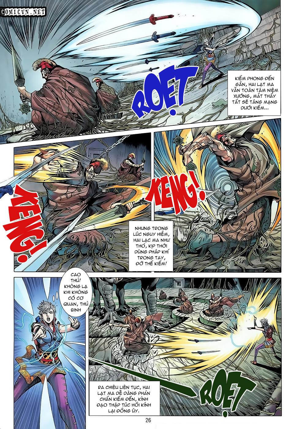 truyện tranh thiết tướng tung hoành Chapter 32/
