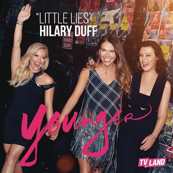 Hilary Duff - Little Lies - Single Cover
