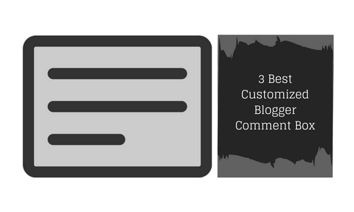 Blogger Comment Box