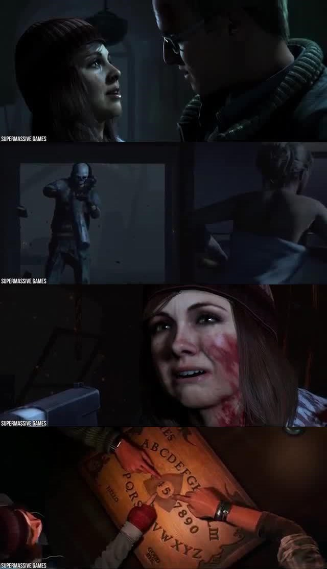 THE SCARIEST 10 VIDEO GAMES THAT TRAUMATIZED PLAYERS 5. Until Dawn