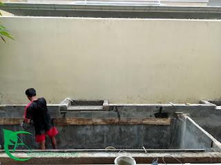 menerima renovasi kolam koi - filter koi
