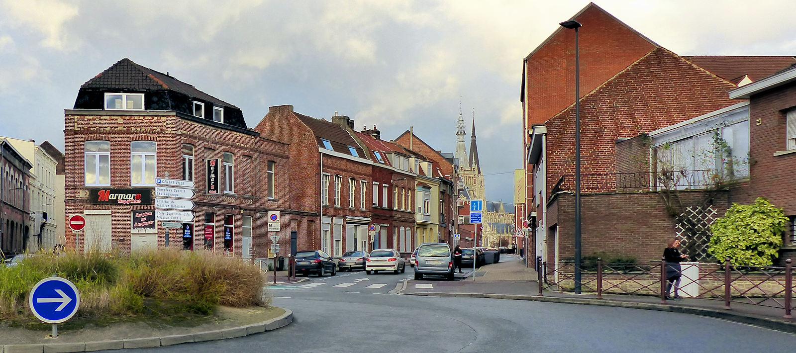 La rue des Anges de Tourcoing