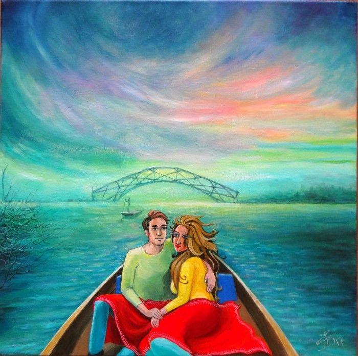Острые и меланхолические картины. Poulami Banerjee