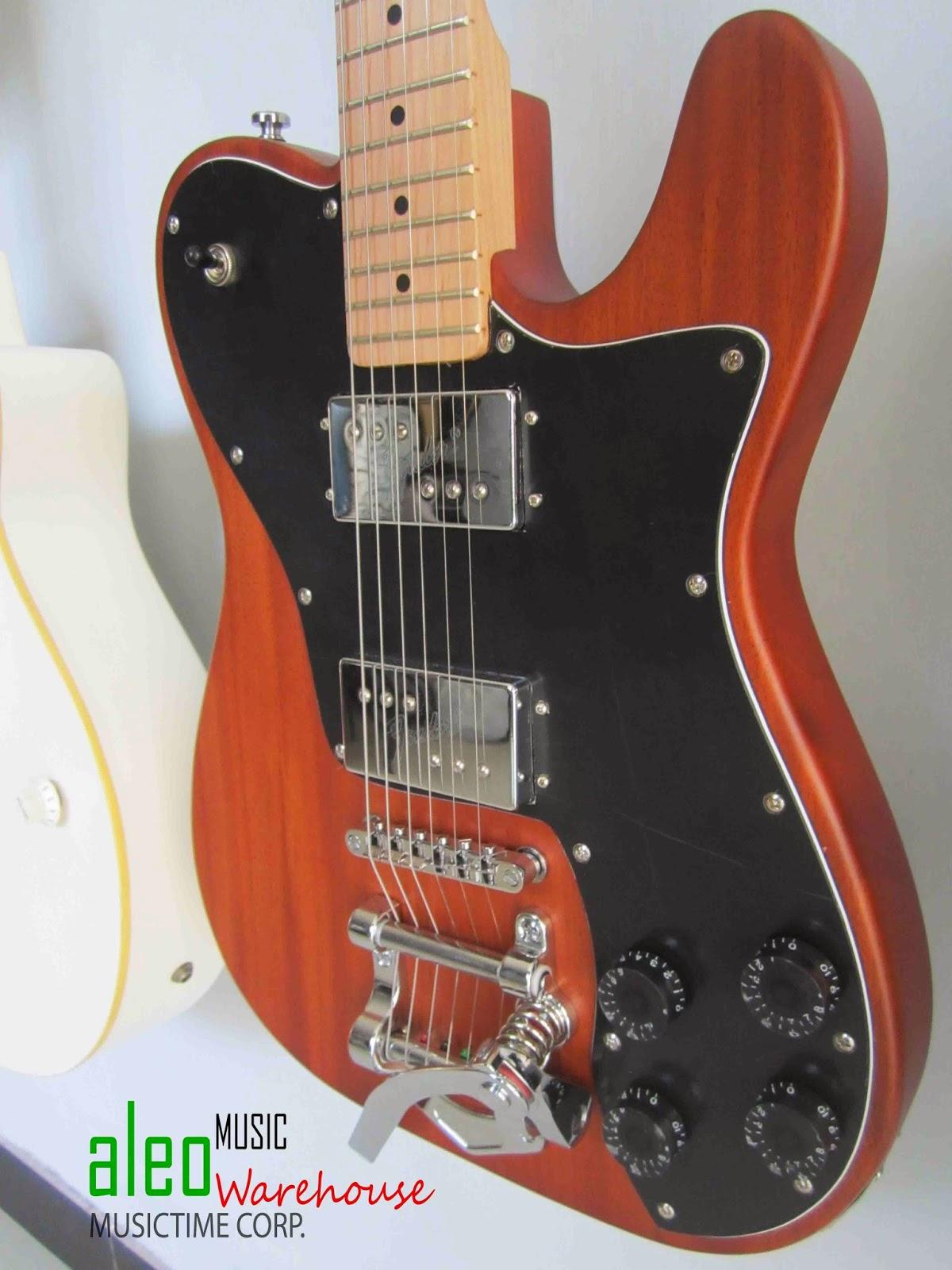 Aleo Music Warehouse Fender Telecaster Mahogany With Bigsby