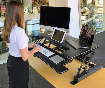 Top 10 Best Standing Desks For Dual Monitors Techcinema