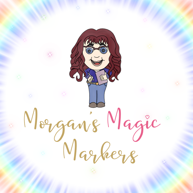 Morgan's Magic Markers | Digital prints and personalised prints available on Etsy.
