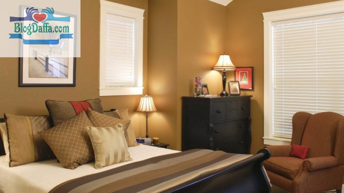 Warna kamar tidur sawo matang