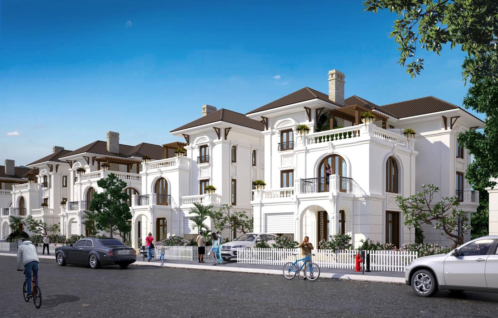 Biệt thự Embassy Garden - căn hộ đẳng cấp, an ninh tiêu chuẩn quốc tế