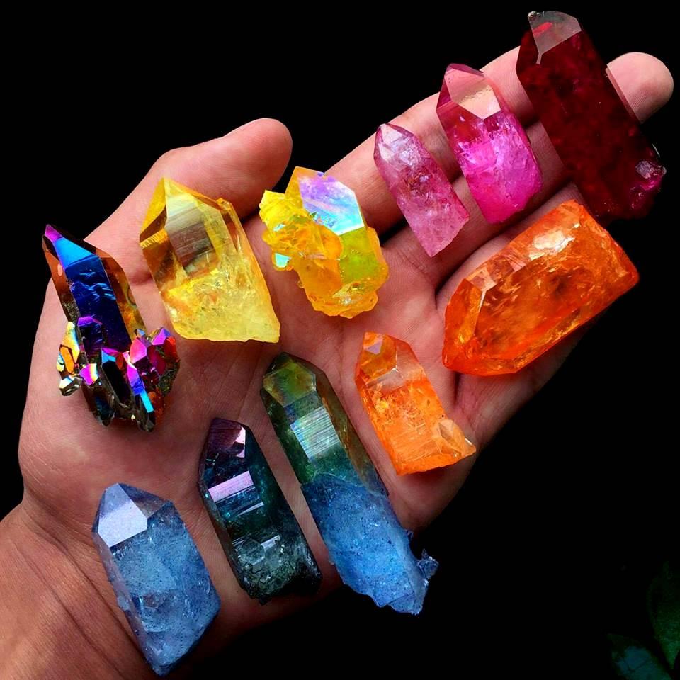 How Is Aura Rainbow Quartz Made