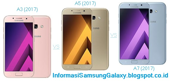 3 Samsung A series 2017: Galaxy A3 vs A5 vs A7