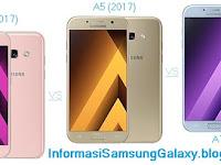 Perbandingan 3 Samsung A series 2017: Galaxy A3 vs A5 vs A7