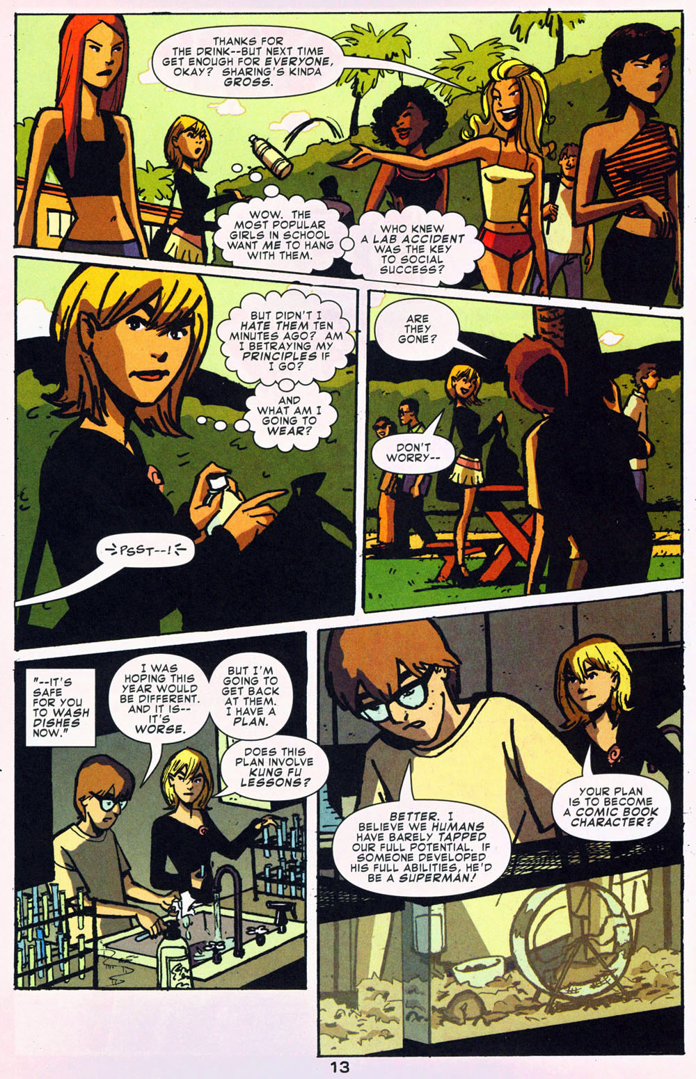Read online Bad Girls comic -  Issue #1 - 14