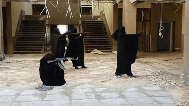 Daesh llama por primera vez a mujeres a participar en luchas