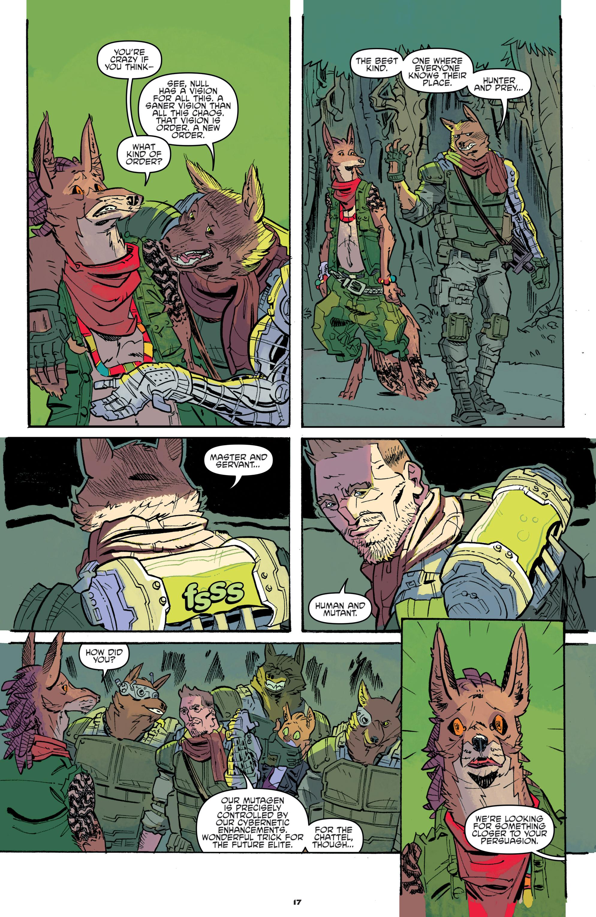 Read online Teenage Mutant Ninja Turtles Universe comic -  Issue #11 - 19