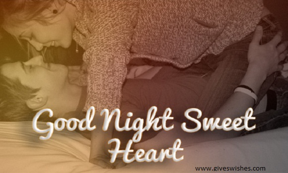 I love you good night messages for him