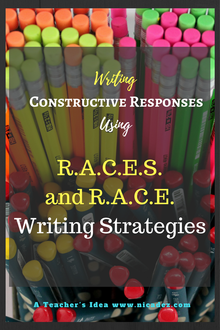 RACE Writing Strategy