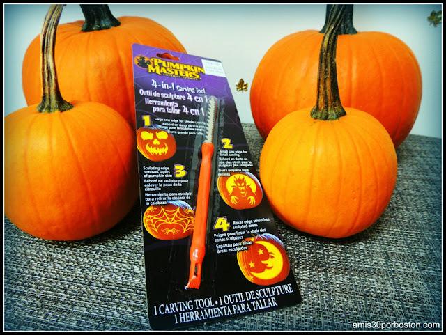 Herramientas para Tallar  Calabazas en Halloween