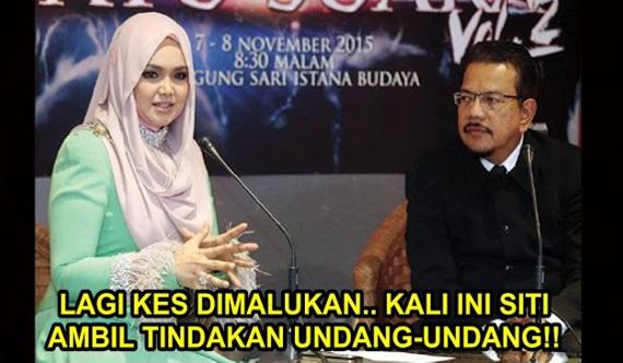 Selepas Disindir Jamal Yunos, Lagi Isu Landa Siti Nurhaliza!! Kali Ini Lebih DAHSYAT!!! Hingga Siti Nekad Ambil Tindakan Undang-Undang!!!